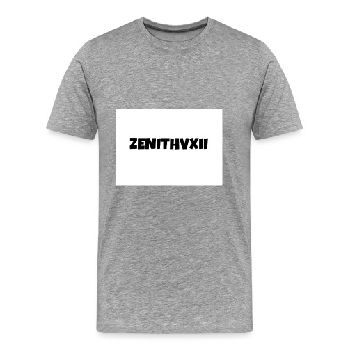 Premium ZENITHVXII LOGO DESIGN - Men's Premium T-Shirt