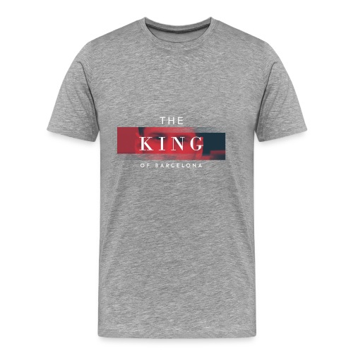 /Leo Messi King Desgn/ - Men's Premium T-Shirt