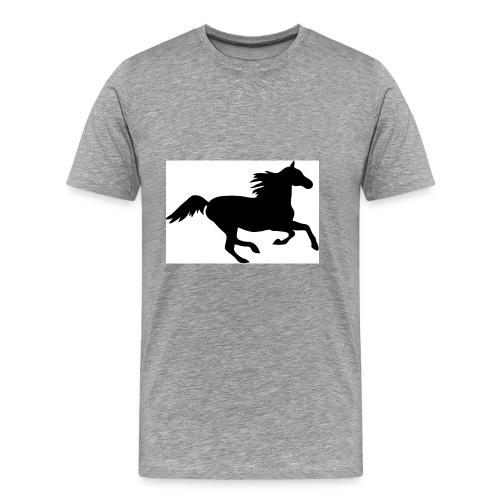horse drink bottle - Men's Premium T-Shirt