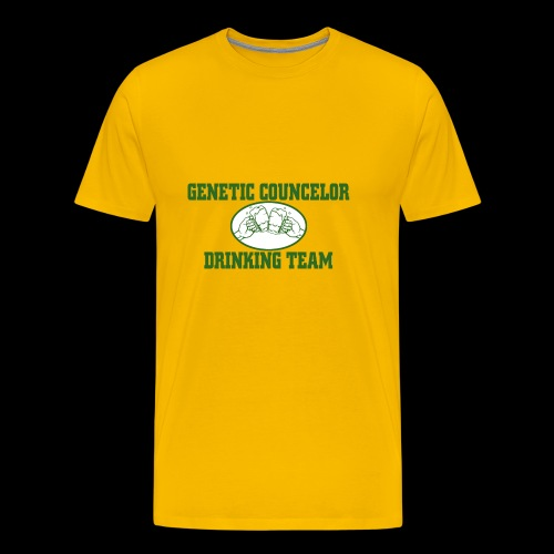genetic counselor drinking team - Men's Premium T-Shirt