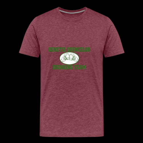 genetic counselor drinking team - Men's Premium T-Shirt