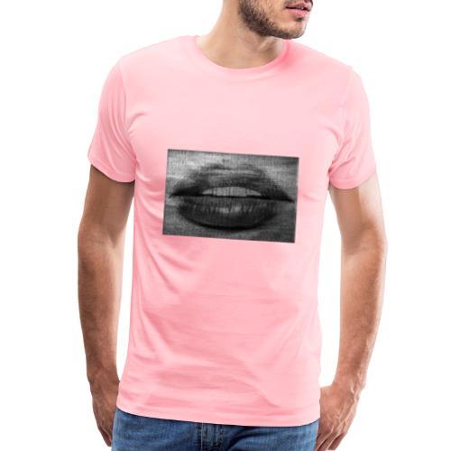 Blurry Lips - Men's Premium T-Shirt