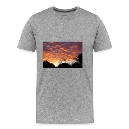 Sunset and light - Men's Premium T-Shirt