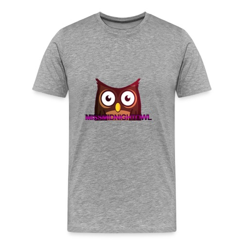 MissMidnightOwl male clothing - Men's Premium T-Shirt