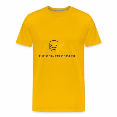 cointelegraph branding - Men's Premium T-Shirt