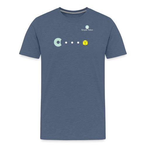 SimpleToken Pacman by Titus - Men's Premium T-Shirt