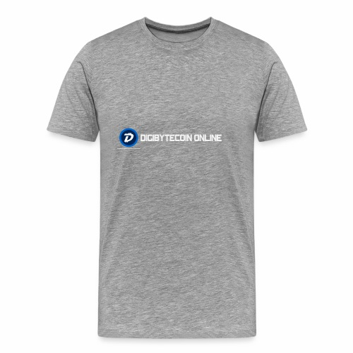 Digibyte online light - Men's Premium T-Shirt
