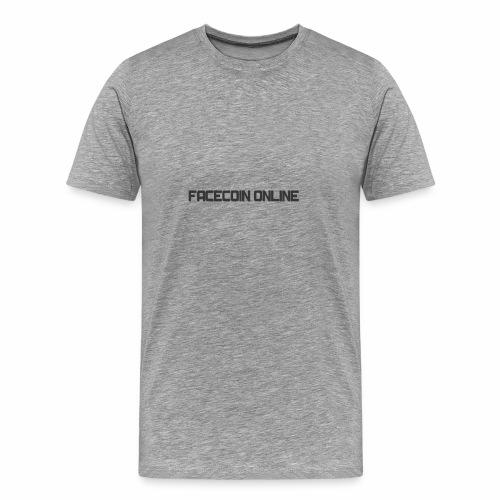 facecoin online dark - Men's Premium T-Shirt