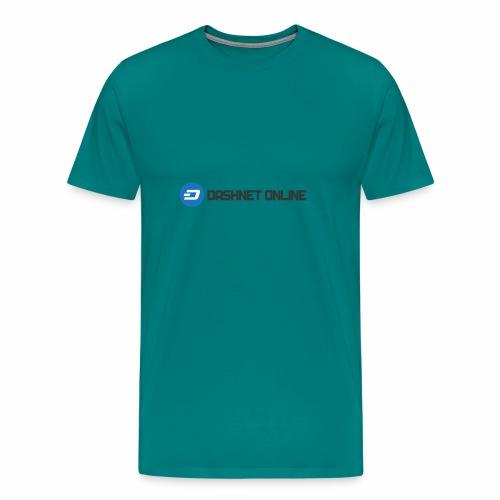 dashnet online dark - Men's Premium T-Shirt