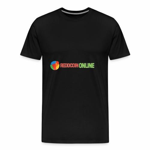 Reddcoin online logo red and green - Men's Premium T-Shirt