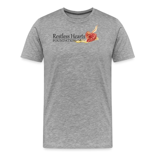 Restless Hearts Foundation Logo - Men's Premium T-Shirt