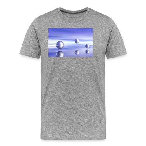 Ball Landscape in 3D - Men's Premium T-Shirt