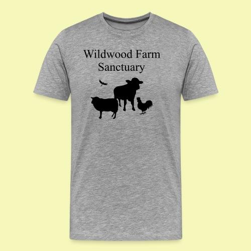 Black Cow - Men's Premium T-Shirt
