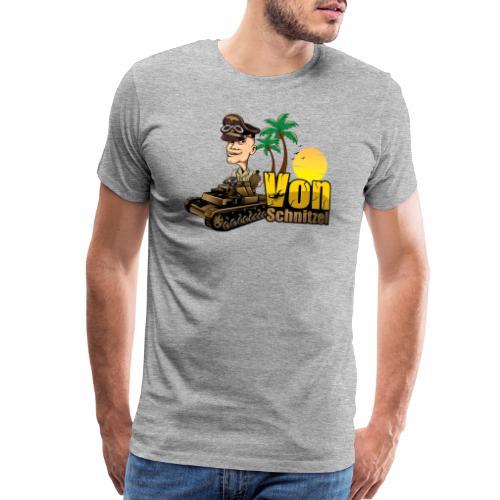 Von Schnitzel Afrika - Men's Premium T-Shirt