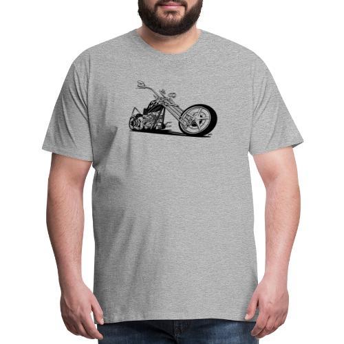 Custom American Chopper Motorcycle - Men's Premium T-Shirt