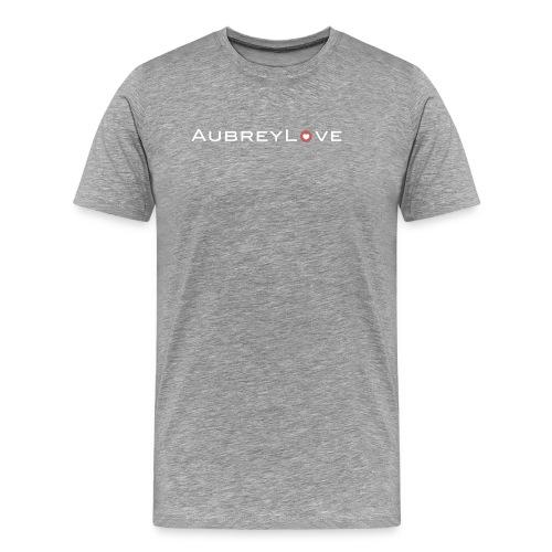 Large White Logo - Men's Premium T-Shirt