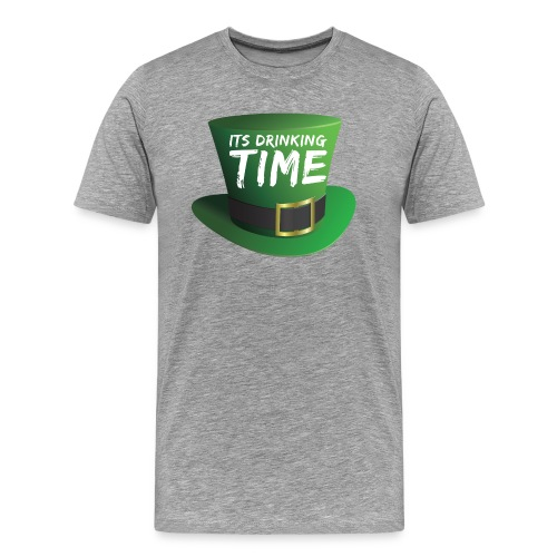 drinking time st patricks day - Men's Premium T-Shirt
