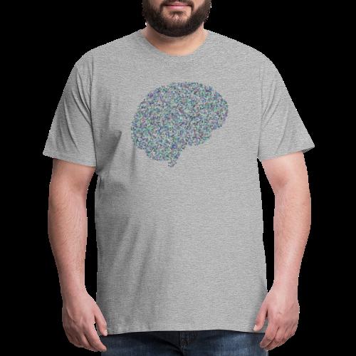 brain scramble - Men's Premium T-Shirt