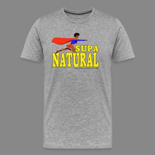 Supa Natural - Men's Premium T-Shirt