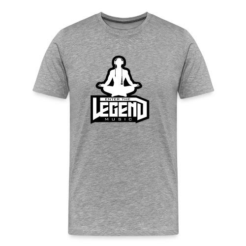 Enter The Legend Music B/W - Men's Premium T-Shirt