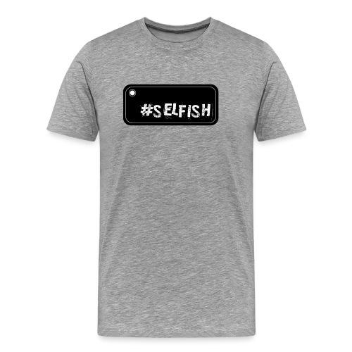 Selfish selfie - Men's Premium T-Shirt