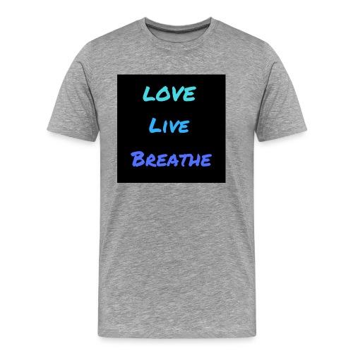 The Day Shift Academy Blue LLB Design - Men's Premium T-Shirt