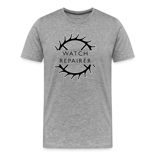 Watch Repairer Emblem - Men's Premium T-Shirt