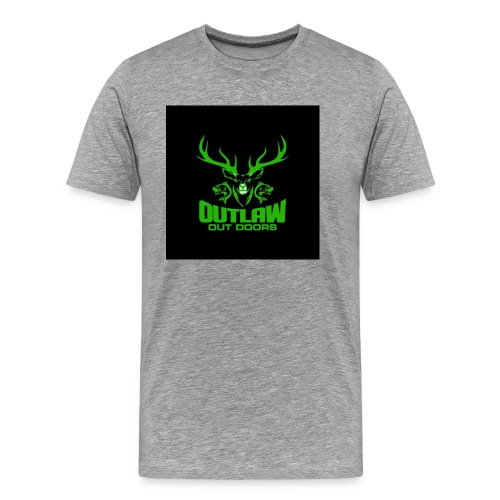 Outlaw Outdoors Logo 2 - Men's Premium T-Shirt