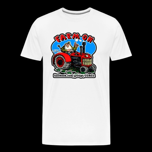 Mr Natural Farm On - Men's Premium T-Shirt