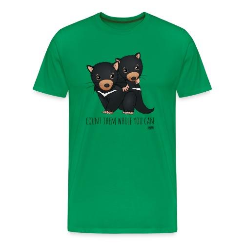 snugglecoats_tasmaniandev - Men's Premium T-Shirt