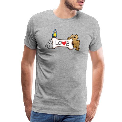 Pet Love - Men's Premium T-Shirt