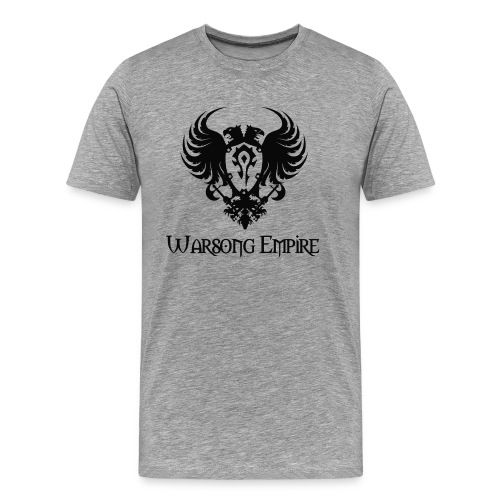Warsong Empire (Black Logo) - Men's Premium T-Shirt