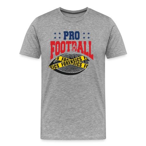 PRO FOOTBALL FORENSICS - Men's Premium T-Shirt