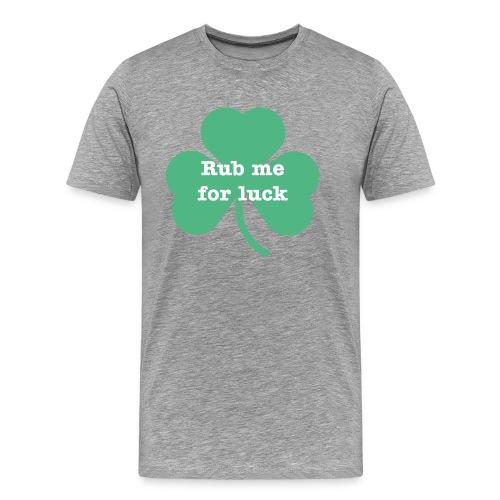 Rub me for luck - Men's Premium T-Shirt