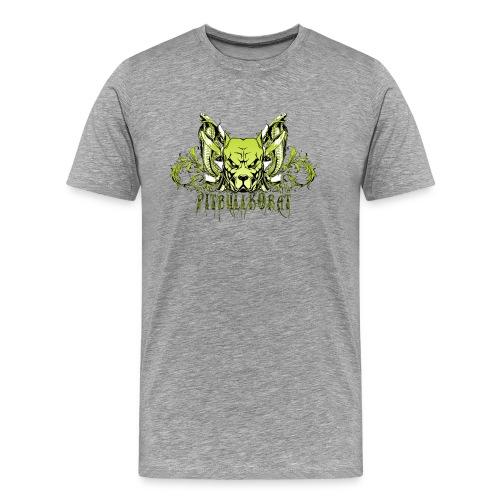 Logo Design Cobra - Men's Premium T-Shirt