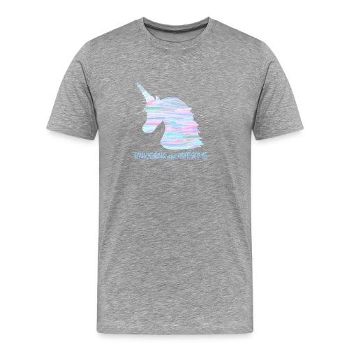Unicorns are Awesome - Men's Premium T-Shirt