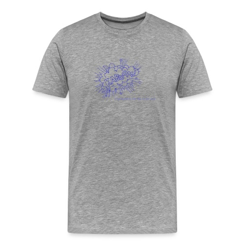 Kaboom-BLUE - Men's Premium T-Shirt