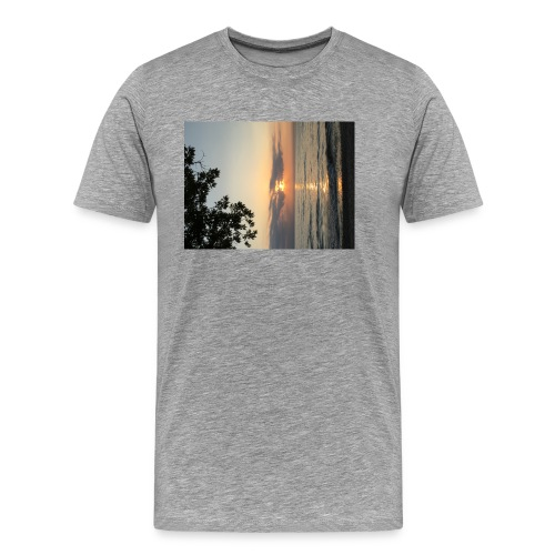 Beach Sunset - Men's Premium T-Shirt