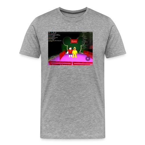 a roblox moment - Men's Premium T-Shirt