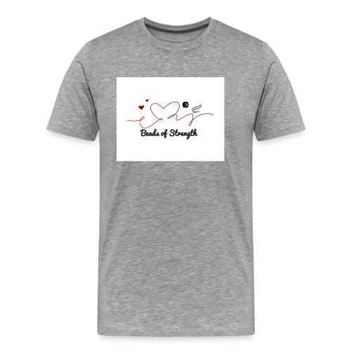 Beads of Strength Logo - Men's Premium T-Shirt