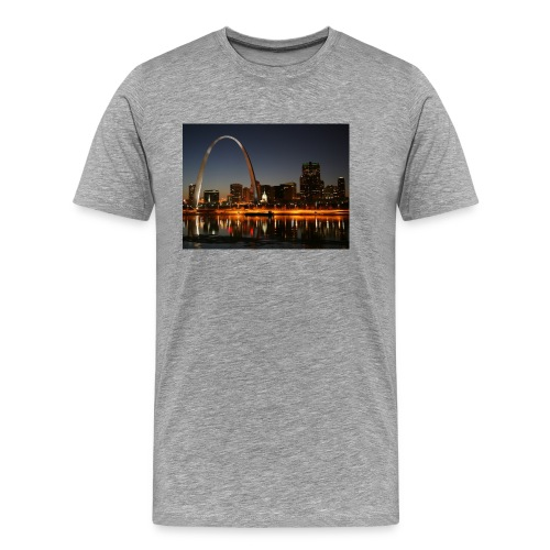 St Louis Arch - Men's Premium T-Shirt