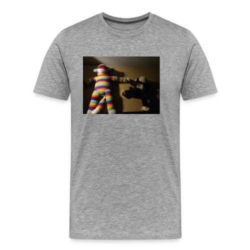 Monkey love - Men's Premium T-Shirt