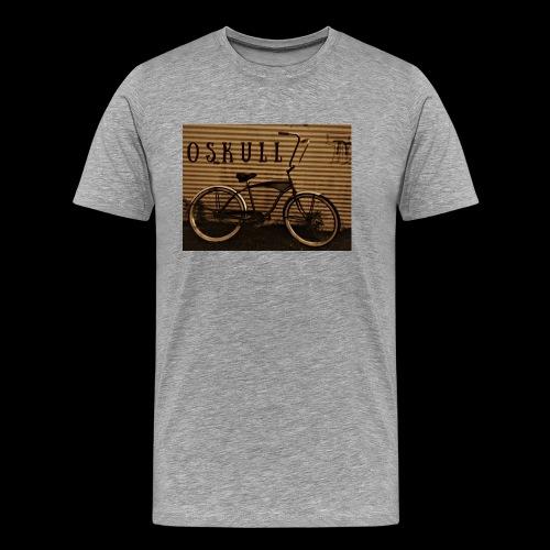 ratrod bike old school style - Men's Premium T-Shirt