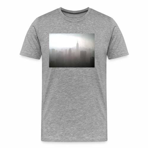 Standing At The City - Men's Premium T-Shirt