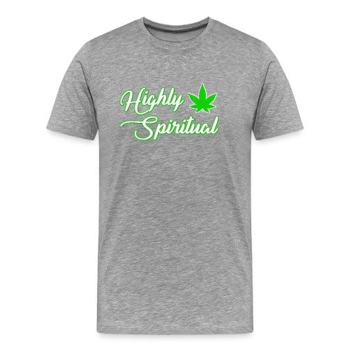 Highly Spiritual Logo - Men's Premium T-Shirt