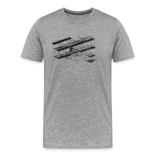 1910inaviation farman3biplane losangeles - Men's Premium T-Shirt