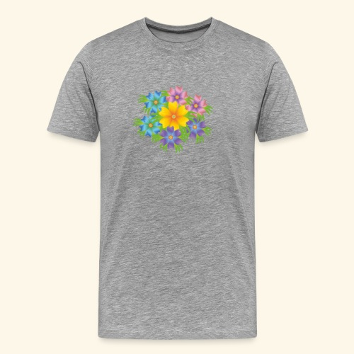 flower1 - Men's Premium T-Shirt
