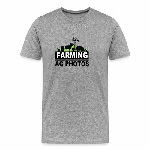 Farming Ag Photos - Men's Premium T-Shirt