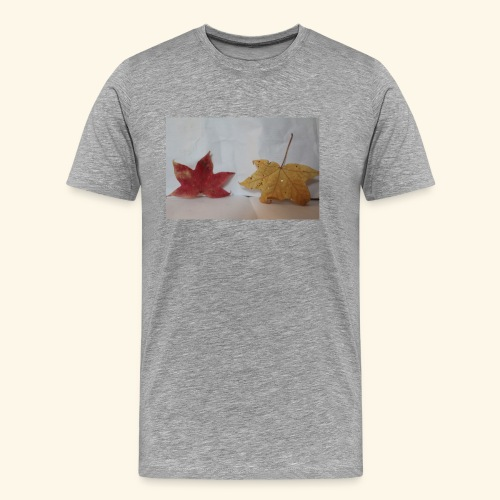 Leaves falling - Men's Premium T-Shirt