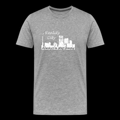 Reality City - Dark - Men's Premium T-Shirt